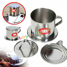 1PC Stainless Steel Vietnamese Coffee Drip Filter Maker Infuser Sets 5.5 x 6.5cm