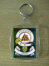 GRANT CLAN KEY RING (ACRYLIC) IMAGE DISTORTED TO PREVENT INTERNET THEFT