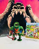 Vintage Motu, 1984 He-Man,Masters Of The Universe,Leech, Mattel 100% Complete