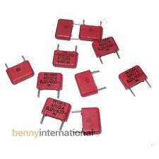 10x 10nF 400V WIMA CAPACITORS Metalized Polycarbonate Film 0.01uF - AUS STOCK