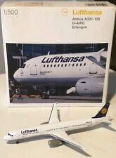 HERPA WINGS 1:500 Lufthansa Airbus A321-100  508797-001 D-AIRC