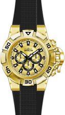 Invicta Men's I-Force Quartz Multifunction Gold Dial Watch 24387