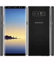 Samsung Galaxy Note8 SM-N950T - 64GB - Midnight Black (Unlocked) Wind/ Freedom