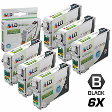 LD © Remanufactured Epson T126120 Set of 6 High Capacity Black Ink