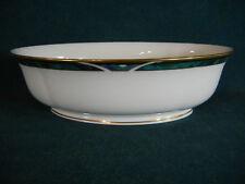"""Lenox Kelly 10"""" Pedestal Oval Vegetable Serving Bowl"""