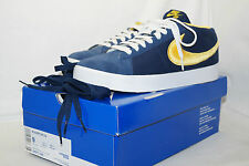Nike Blazer SB CS 2009 Taille 42,5 uk.8 Navy bleue Maize yellow 395771 400 RARRRRR