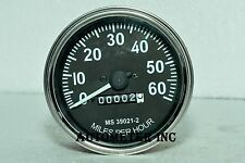 Willys M Series Jeeps, MB, GPW, CJ2A, CJ3A , CJ3B Speedometer -1947 -55