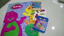 DVDs Barney Moving & Grooving Tweenies Party Games Laughs & Giggles Poster Stick