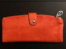 DMM Metropolitan UltiMate ID Cash Card Cellphone Travel Wallet Clutch Orange