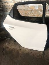 2012 SEAT IBIZA O/S RIGHT DRIVERS SIDE REAR DOOR WHITE PAINT CODE LS9R