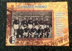 FOOTBALL CALCIO TORINO FC  Cartolina Il Grande Torino