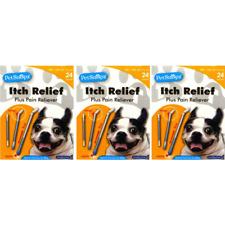 Pet Snapz - Itch Relief Pain Dog Hygiene Pet Treatment Bug Bites - 3-Pack
