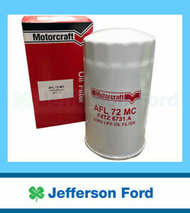 Genuine Ford  F250 F350 Rm Rn 7.3L V8 Power Stroke Oil Filter 2001 On Afl72Mc