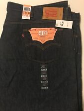 Levi's 501 Jeans Men's 54X30 Button Fly Original Shrink To Fit NWT