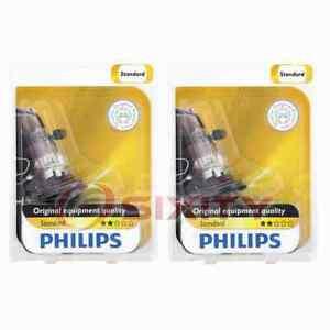 2 pc Philips 9005XSB1 Headlight Bulbs for BP9005XS Electrical Lighting Body wi