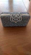 Stunning Love Forever Diamante Box Clutch BNWT RRP £145 FREE POSTAGE