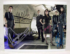TORCHWOOD TV SERIES 8X10 Color Photo-Autographed by Cast-BARROWMAN/MORE (EBAU814