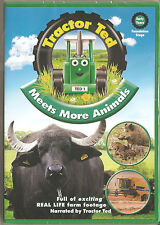 TRACTOR TED - MEETS MORE ANIMALS - CHILDREN'S DVD FARMING NEW