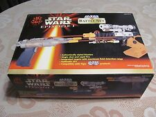 STAR WARS EPISODE 1 LAZER TAG BATTLE SET TIGER ELECTRONICS 1999 BLASTERS