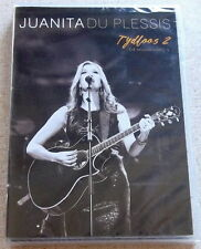 JUANITA DU PLESSIS Tydloos 2 Musiek Videos Region 2 DOES NOT PLAY IN THE USA PAL