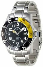Swiss Zeno Air plane Diver II Yellow+ Black