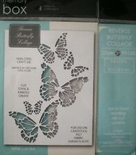 Memory Box ~ REVERSE BUTTERFLY COLLAGE  ~  Die ~ NEW