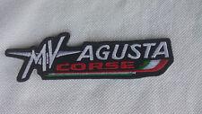 PATCH TOPPA RICAMATA MV AGUSTA CORSE TERMOADESIVA CM. 11X3