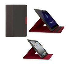 "Belkin Samsung Galaxy Tab 10.1"" Slim Folio Stand Case/Cover Red/Black F8N622"