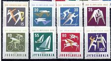 IUGOSLAVIA (1385) 1960 1960 GIOCHI OLIMPICI Set unmounted Nuovo di zecca Sg947-54