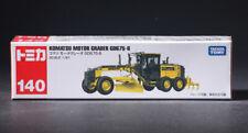 Takara Tomy Tomica #140 Komatsu Motor Grader GD675-6 Truck Diecast Model