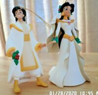 Disney's Aladdin & Jasmine Christmas Ornaments by Groiler Mint First Issue