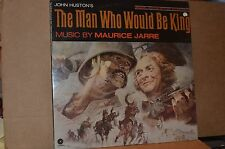 THE MAN WHO WOULD BE KING SEALED 1975 CAPITOL SOUNDTRACK LP; MAURICE JARRE MUSIC