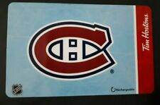 2X Tim Hortons (Canada) 2019 NHL Montreal Canadiens + CROSBY  No Value BILINGUAL