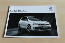 129849) VW Golf VI GTI - adidas - Prospekt 05/2012