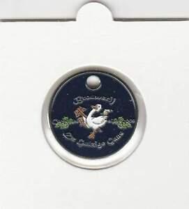 Winkelwagenmuntjes / Shopping Cart Coin: Brouwerij De gulzige Gans (WA019)