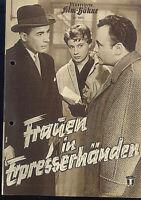 """IFB Illustrierte Film Bühne Nr. 3373 """" Frauen in Erpresserhänden """""""