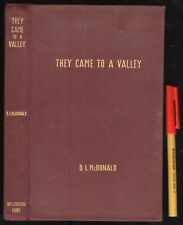 236pg WELLINGTON NSW Australian Town History THEY CAME TO A VALLEY D McDonald HC