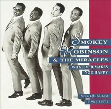 Whatever Makes You Happy: More of Best... by Smokey Robinson CD GREATEST HITS