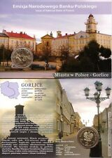 ■■■ Poland 2010 2 Zlote Polish Cities GORLICE in Blister UNC ■■■