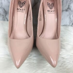 Beast Fashion Pink pointed toe high heel casual  shoe size 6 women
