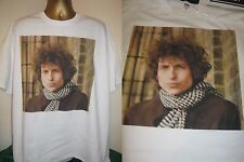 BOB DYLAN- BLONDE ON BLONDE- CLASSIC  1966 ALBUM ART T SHIRT-WHITE -EXTRA LARGE