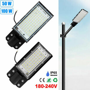 Super Bright LED Street Light Wall Security Floodlight Outdoor Path Road Lamp UK
