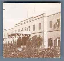 Egypte, Grand Hôtel Thewfikief  Vintage citrate print. Vintage Egypt  Tirage c