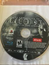 The Chronicles Of Riddick Assault On Dark Ps3 Playstation 3 Ntsc Disc Only