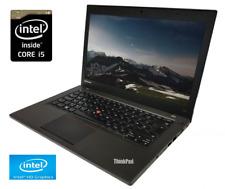 "Lenovo Thinkpad T440p Laptop 14"" HD+ Screen, i5-4300M, 8GB RAM, 240GB SSD"