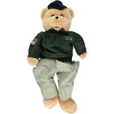 "Usa American Military Heroe Bear (Singing) 11"""