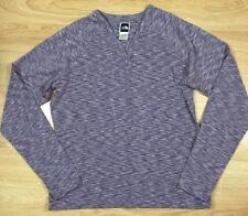THE NORTH FACE VAPORWICK Base Layer Shirt Womens Size Large Purple Heather