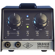 Universal Audio SOLO 610 Classic Tube Preamplifier and DI Box
