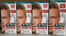 Lot Of 4 JUST FOR MEN AutoStop Comb-In Hair color Dark Blond A-15 Natural Look
