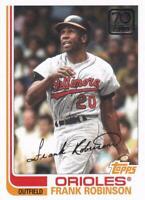2021 Topps Series 1 70 Years Insert #70YT-32 Frank Robinson Baltimore Orioles
